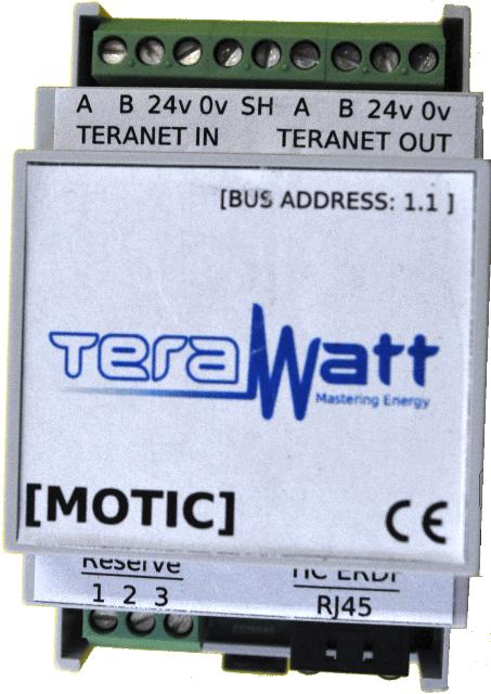 MOTIC par Terawatt pour Optimeasy